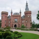 Das Wasserschloss Moyland.