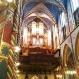 Die Orgel in der Basilika.