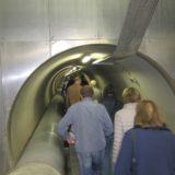 Der Beginn der Tunnelröhre.