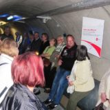 Hier gibt es erste Informationen zum Tunnel.