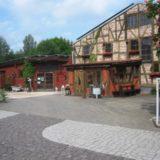 Ankunft im Mühlenmuseum