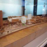 Das Modell des UN-Campus in Bonn